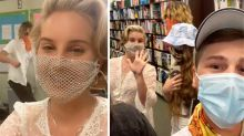 Lana Del Rey's 'useless' face mask causes a stir