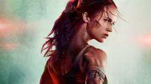 El póster de Tomb Raider es la mofa de la red: ¿qué le pasa al cuello de Alicia Vikander?