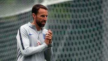 Gareth Southgate dislocates shoulder