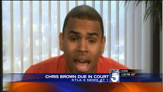 Chris Brown Due in Court for Probation Hearing
