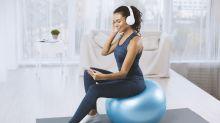 Pelota de yoga, perfecta para mejorar tu postura y tonificar en casa