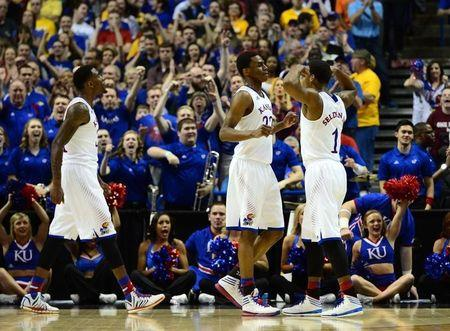 NCAA Basketball: NCAA Tournament-2nd Round-Kansas vs Eastern Kentucky