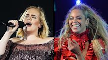 Adele, Beyoncé, and Chris Martinhave NOT recorded a song together — Ryan Tedder was just joking