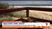 Police believe Gold Coast baby died in NSW