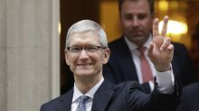 Apple says it will invest $350 billion in the U.S. over the next five years
