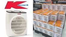 $15 Kmart heater shoppers are raving about: 'Best bang for buck'