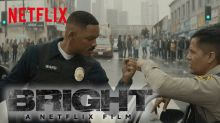 Will Smith falls into a war over a wand in Netflix's 'Bright' trailer