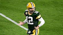 Aaron Rodgers flexes his way into the MVP race