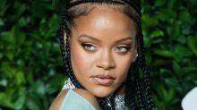 Rihanna: primer selfie 2020 sin maquillaje y con trenzas