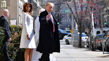 Donald and Melania Trump Reportedly Have Very Long Private Dinners