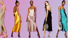 Topshop is selling a dress version of its sell-out satin skirts