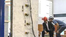 Un spray de cemento evita que edificios viejos sean destruídos en terremotos