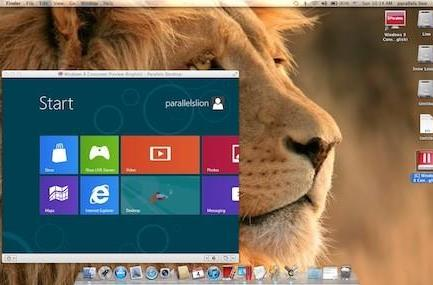 Parallels Desktop 7 updated so you can test Windows 8