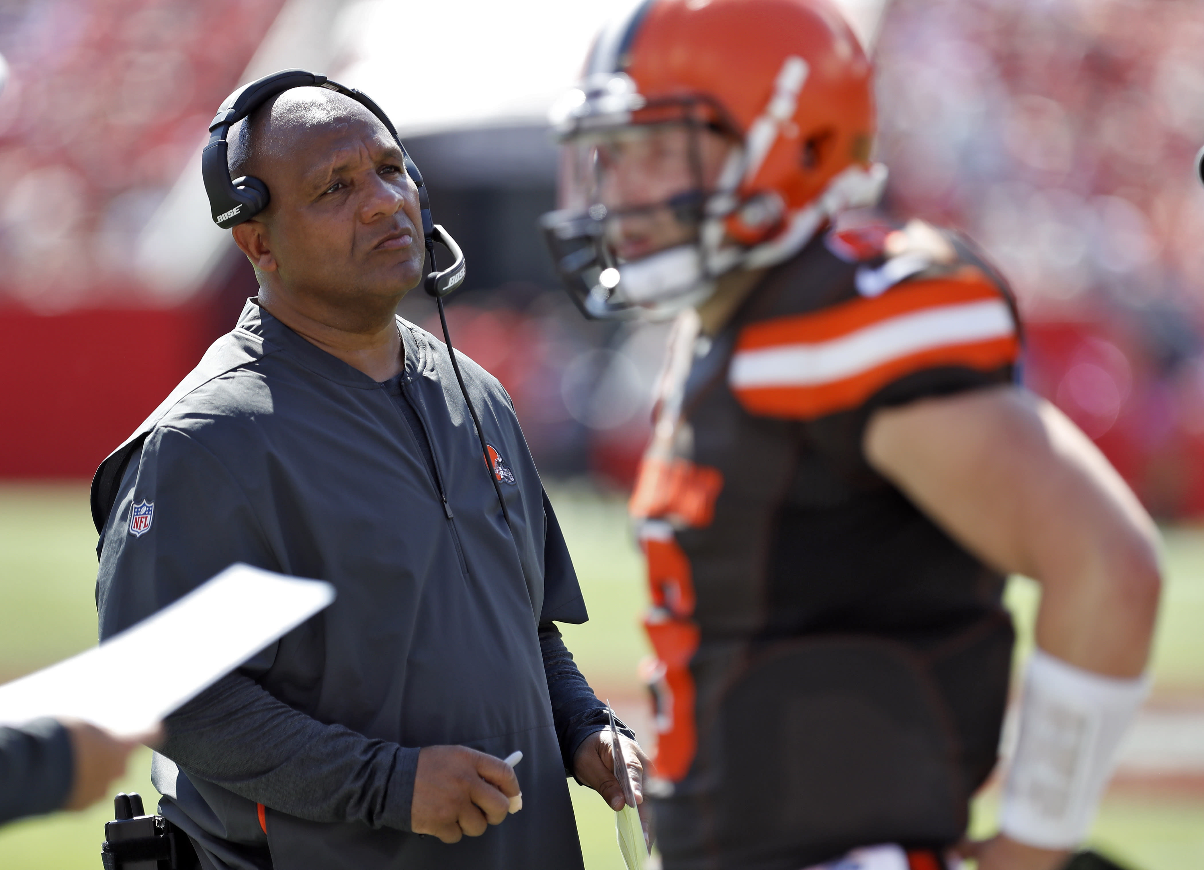 Hue Jackson to be hired by Bengals, who still have two meetings left vs. Browns