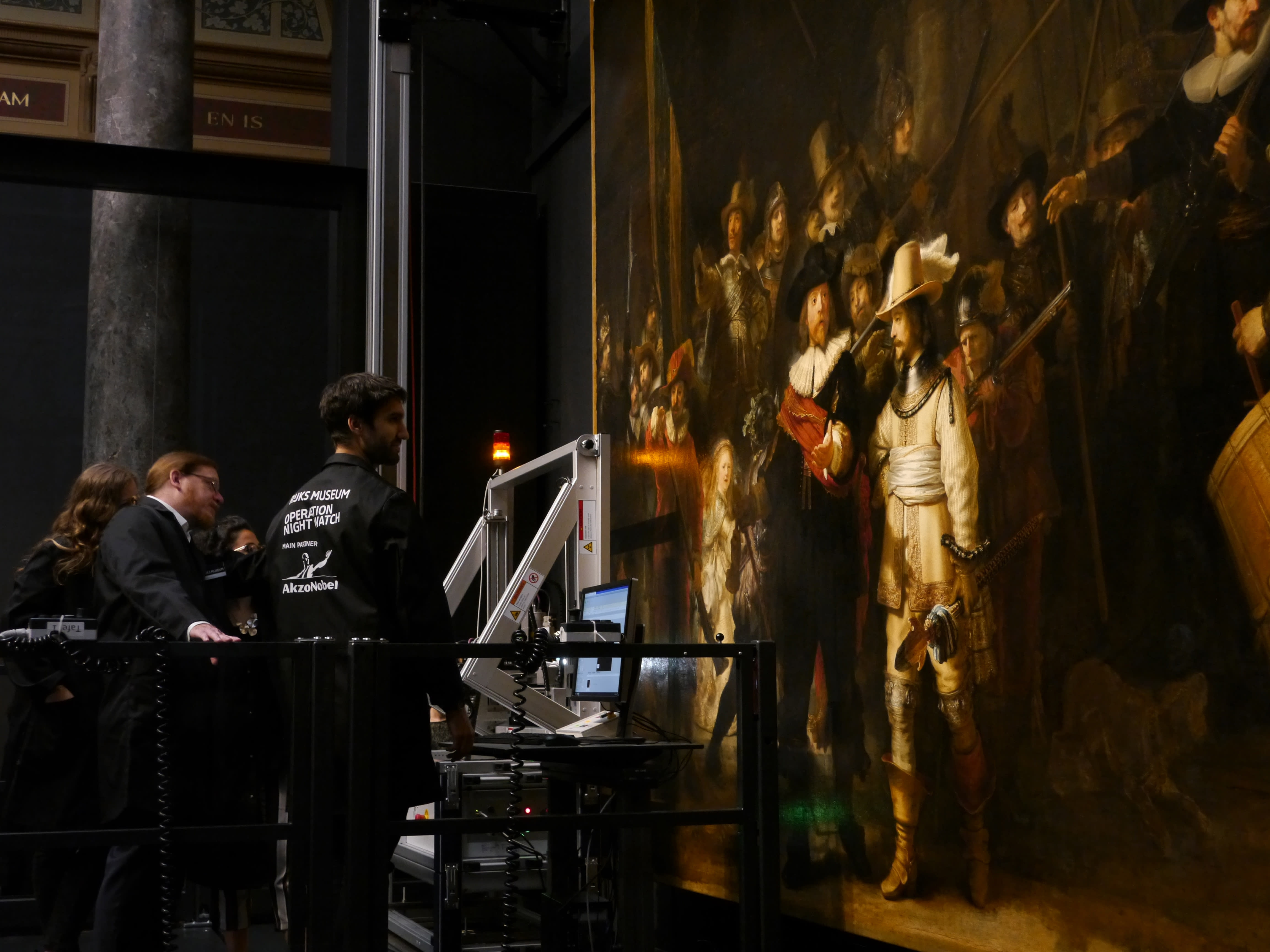 Research, restoration begins on Rembrandt's 'Night Watch'