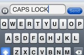 iPhone 101: How to turn caps lock on