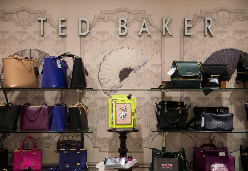 59a9f4a86751 FILE PHOTO  Ted Baker goods are displayed in a store in London