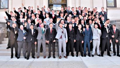 Students pictured giving Nazi salute in school photo