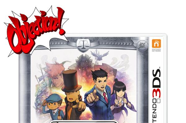 Professor Layton and Phoenix Wright meet August 29 on 3DS
