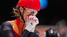 Suzanne Schulting wins every gold at short track worlds, thinking of late teammate