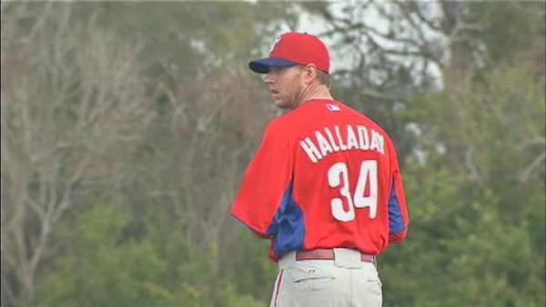 Roy Halladay says he's injury-free, ready to go