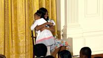 Little Girl Asks First Lady (Gasp) 'How Old Are You?'