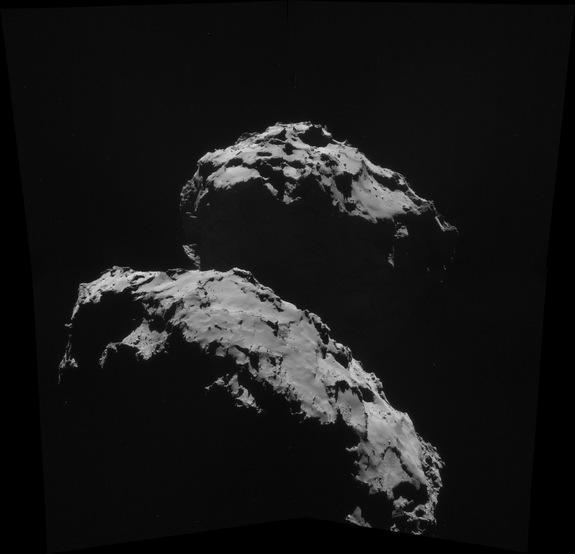 Rosetta Spacecraft's Comet Target: 5 Strange Facts