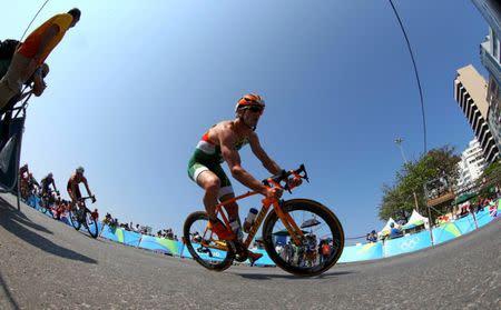 FILE PHOTO: Triathlon - Men's Final