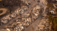 Dramatic pictures show devastation in Oregon as wildfires continue to blaze across California