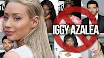 7 Celebs Who've Dissed Iggy Azalea