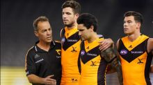 No easy fix for Hawks in AFL: Clarkson