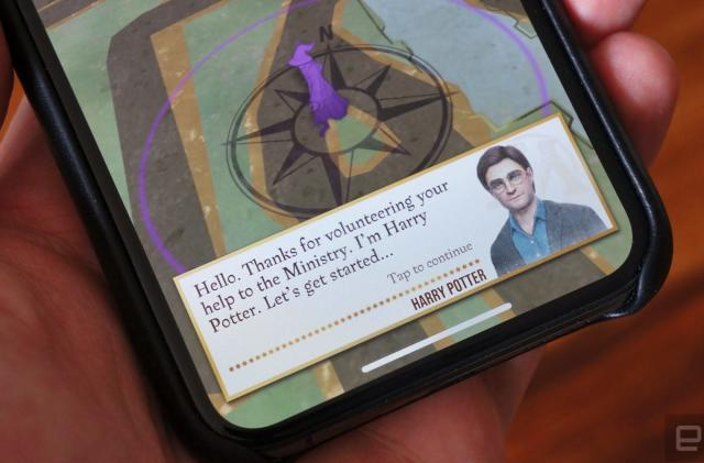 'Harry Potter: Wizards Unite' gathered location data while users slept