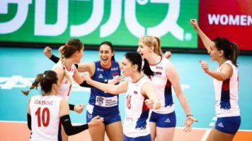 Sérvia e China abrem vantagem na terceira fase do Mundial feminino
