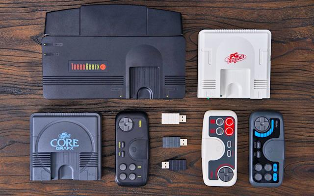 8BitDo is making a wireless controller for the TurboGrafx-16 mini