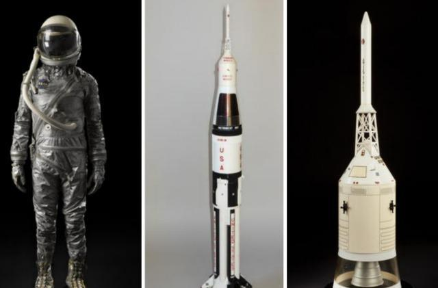 Authentic spacesuits, rockets and more up for auction in NYC