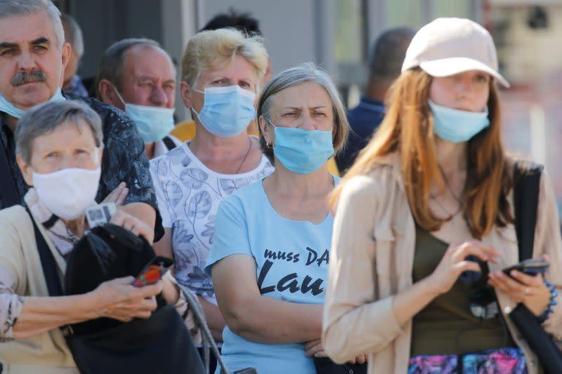 Ukraine reports record daily high of 3,144 new coronavirus cases