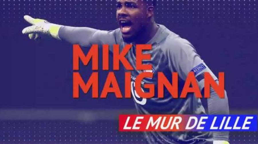 Foot - L1 - Mike Maignan, mur de Lille