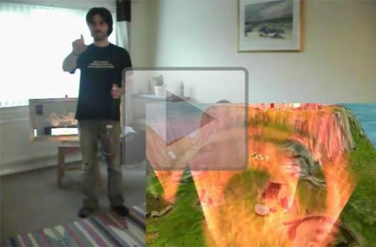 Kinect Hacks: Lend a hand with Black and White