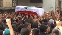 Funeral of Lebanese soldier beheaded by IS militants