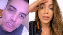 """Léo Dias rebate Anitta: """"Você é um dos piores seres que já vi"""""""