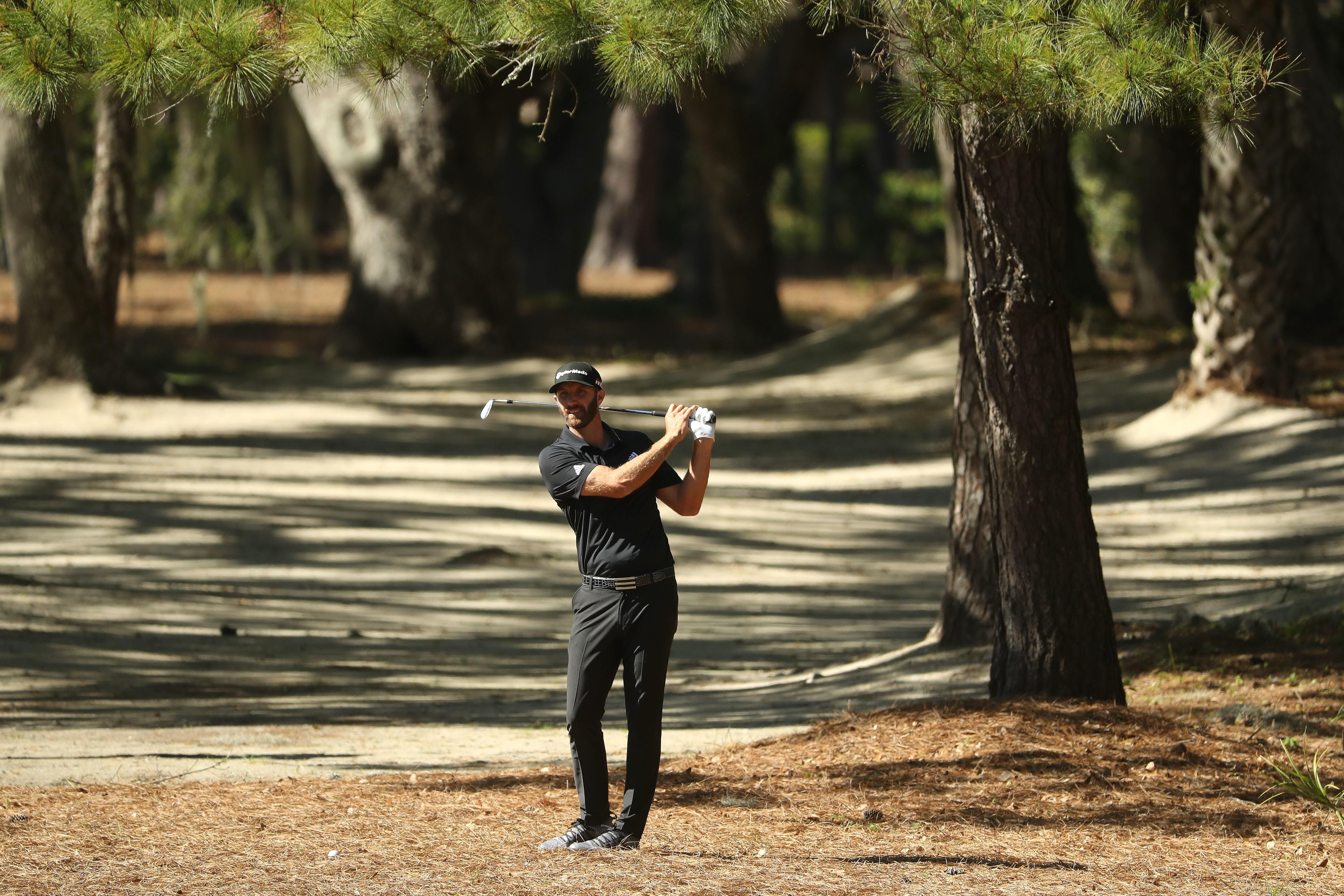 Dustin Johnson fails spectacularly to rescue the RBC Heritage from Masters fatigue and Tiger's absence
