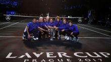 Federer leads Team Europe to victory in first Laver Cup