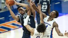Injury to starting Utah State point guard reaches further than 79-70 loss to Boise State