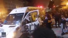 Police Pull Motorists Out of Black Lives Matter Van During Protest in Washington