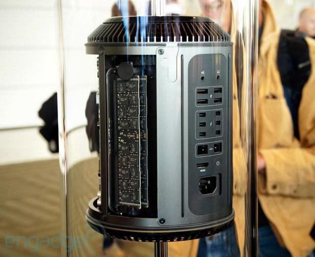Next-generation Apple Mac Pro eyes-on at WWDC 2013 (video)