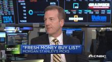 Morgan Stanley's stock picks for 'fresh money'