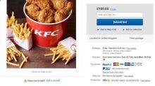 KFC chicken shortage: Bargain buckets sold on eBay as shops shut due to 'drought'