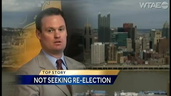 Pittsburgh Mayor Luke Ravenstahl drops out of race for re-election