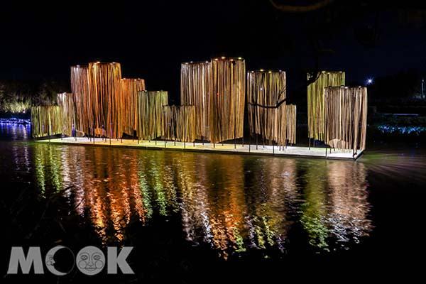 燈節慶典帶來唯美的視覺饗宴。