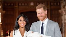 Here Are The First Pictures Of Meghan Markle And Prince Harry's Royal Baby